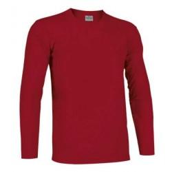 Camiseta Manga Larga Valento Roja