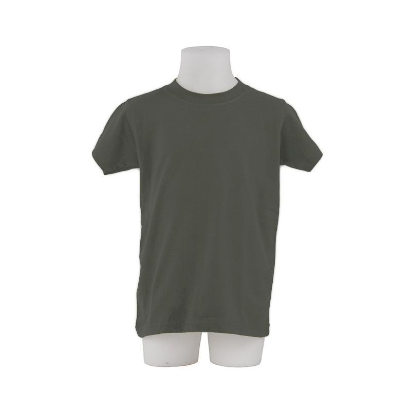 4f6a25184bd ... Camiseta Niño Manga corta Yayo Gris Marengo ...