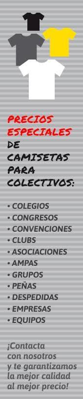 Camisetas para colectivos: